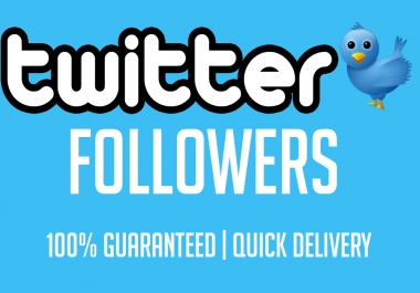 give you 600+ twitter followers 100 real and active users only
