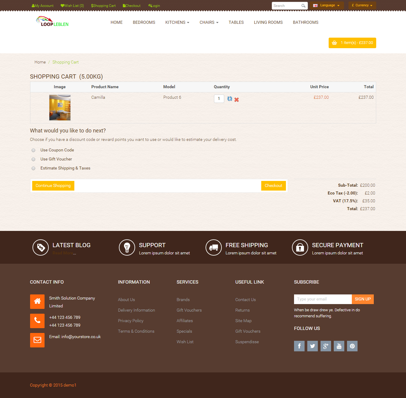 Ecommerce Website, Online Store for your Business