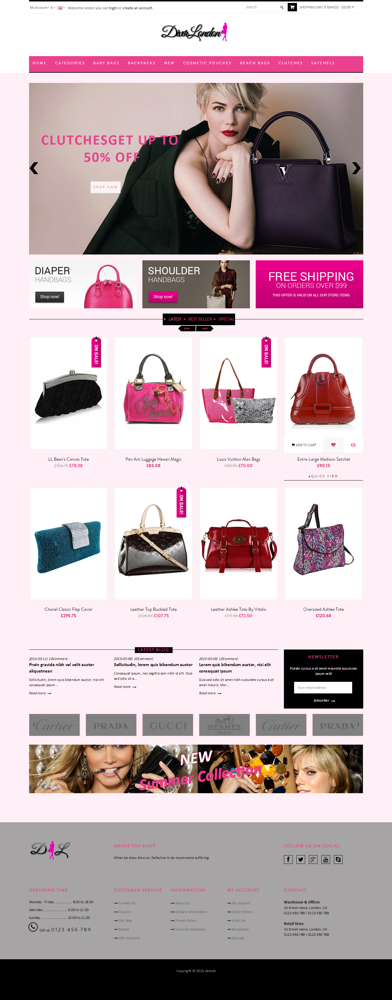 ready responsive eCommerce website