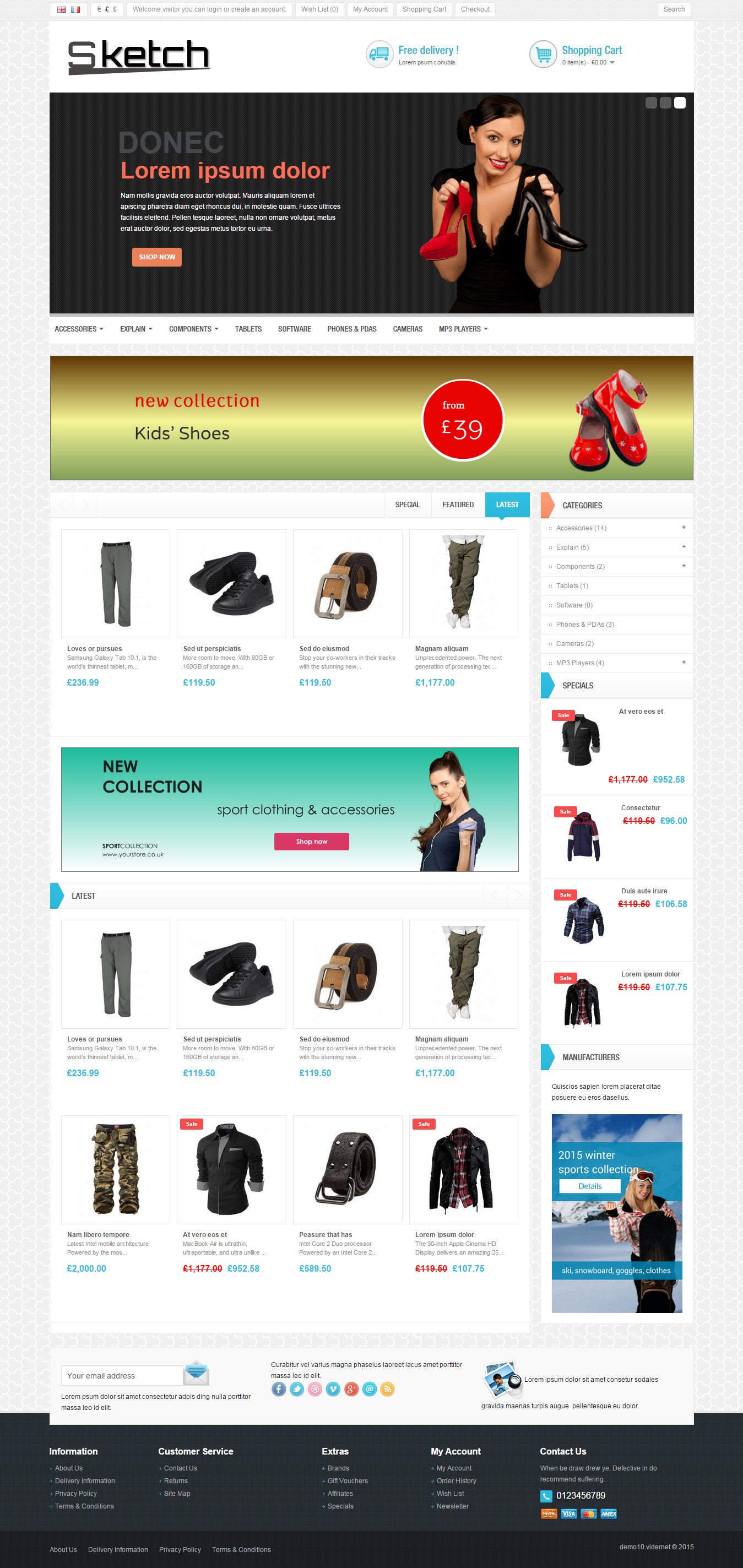 Ready Responsive eCommerce Shop