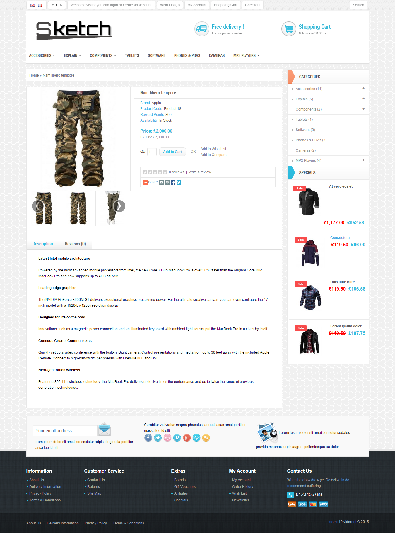 Ready Responsive eCommerce Shop
