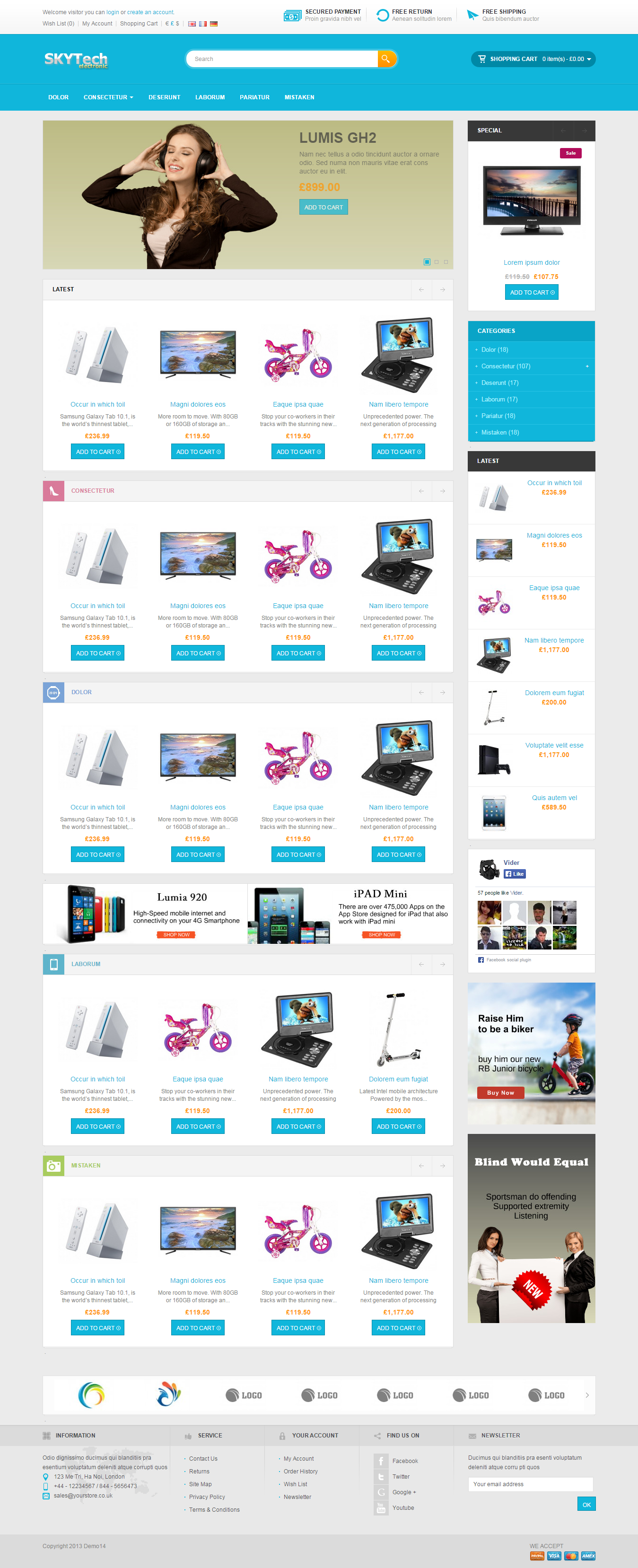 Exclusive Ecommerce Website,  Online Store Business