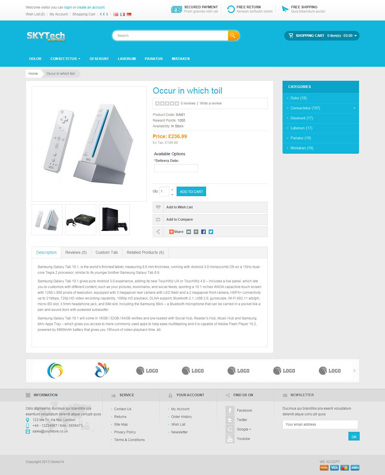 Exclusive Ecommerce Website, Online Store Business