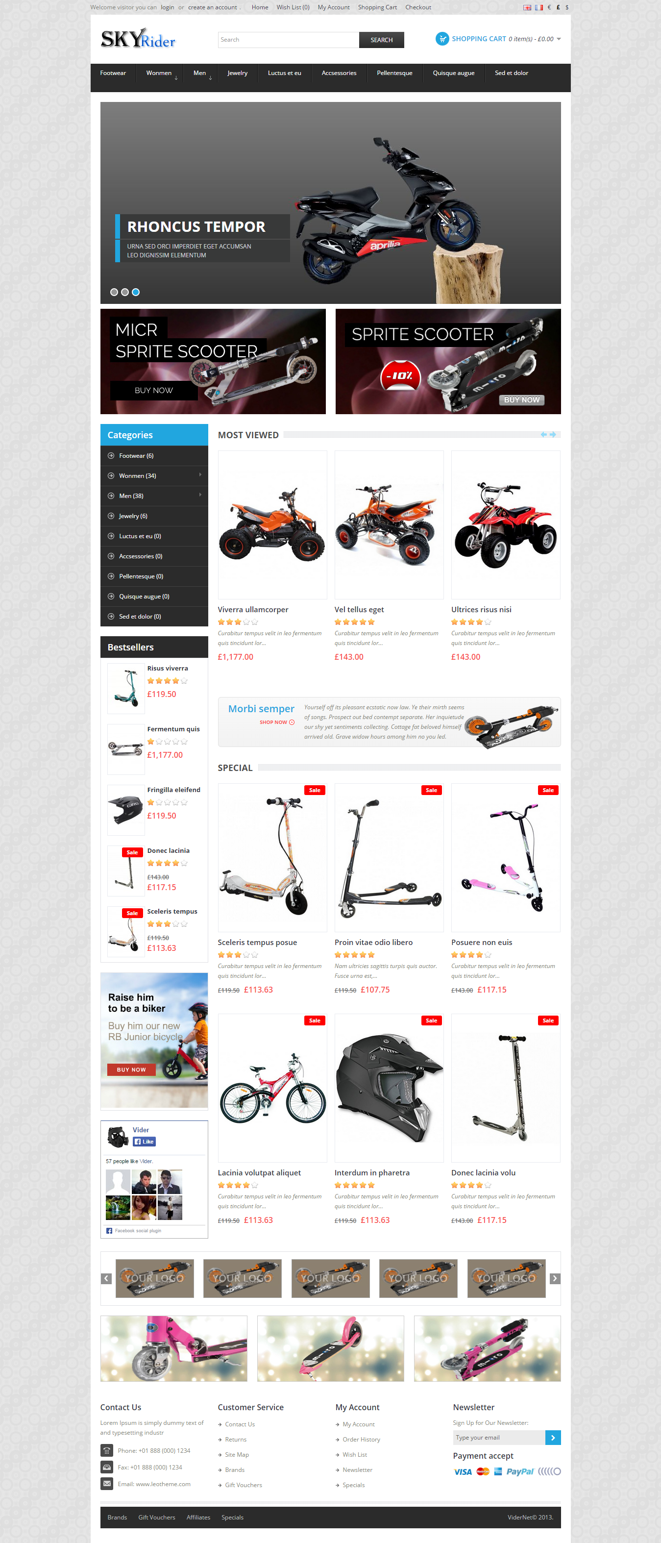 Exclusive eCommerce Shopping Cart Website