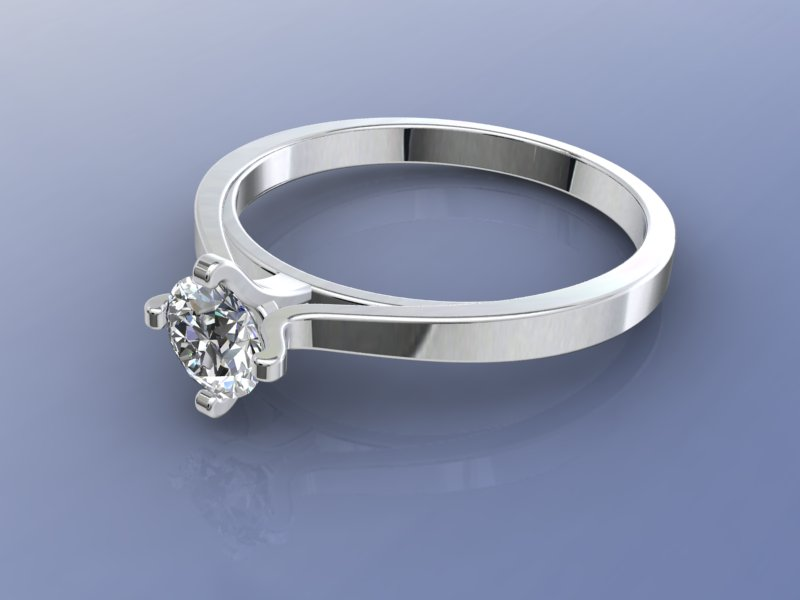 Solitaire Ring Swarovski