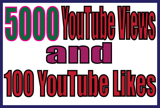 give you 5,000+ Youtube Views