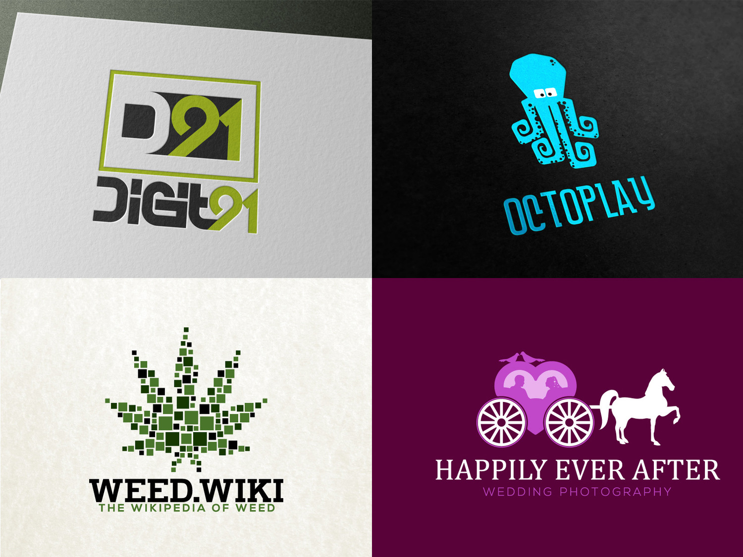 I will design Highly CREATIVE logos