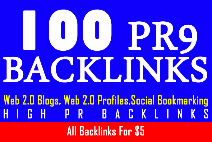 Indexing 100 PR9 backlinks with keyword related artic...