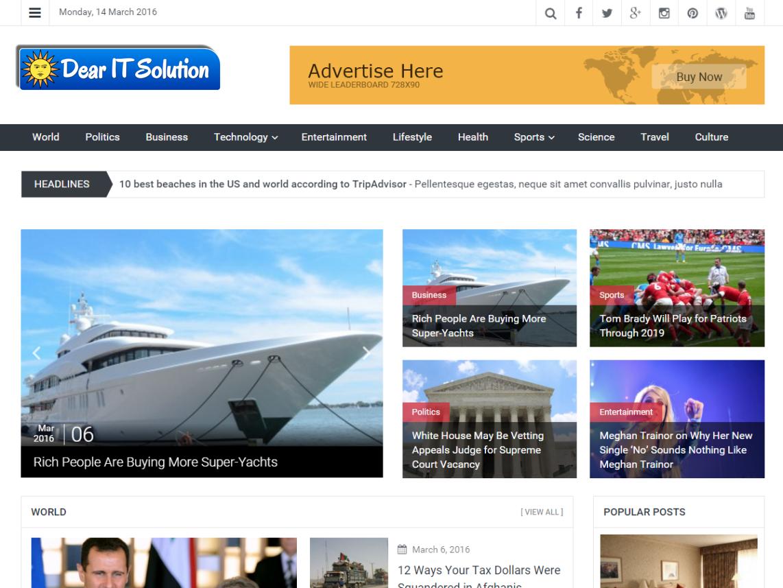 Start a new busines of Magazine website