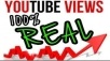 11000+ real youtube views / 200 likes