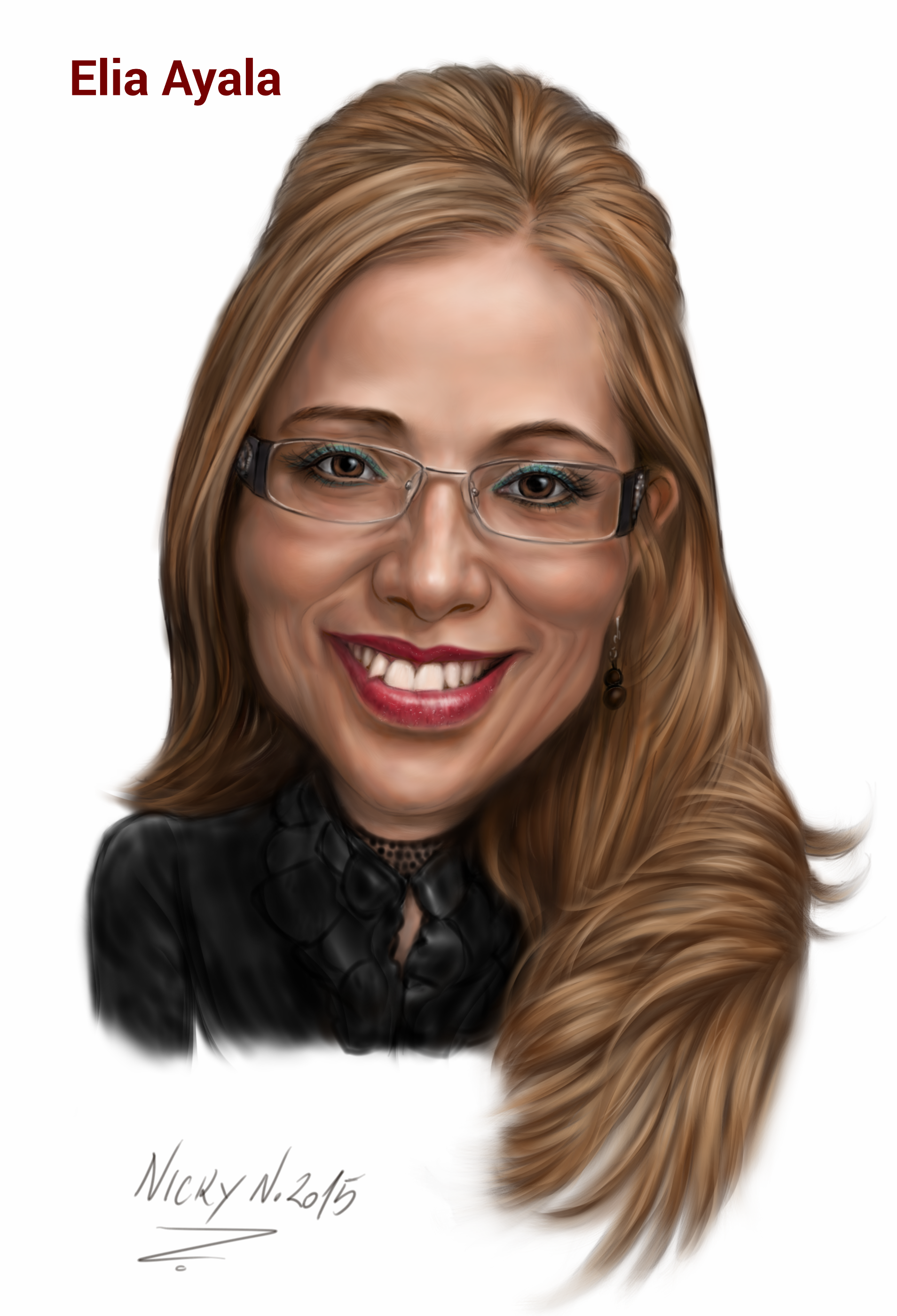 I Will Draw a Professional Caricature from your Photo