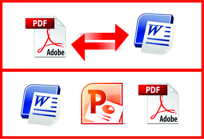 I will convert pdf to Word and Word to pdf or other Doc. Format