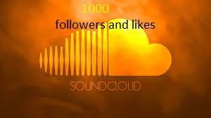 Get 1000 Instant soundcloud Followers OR Likes with 48 hours