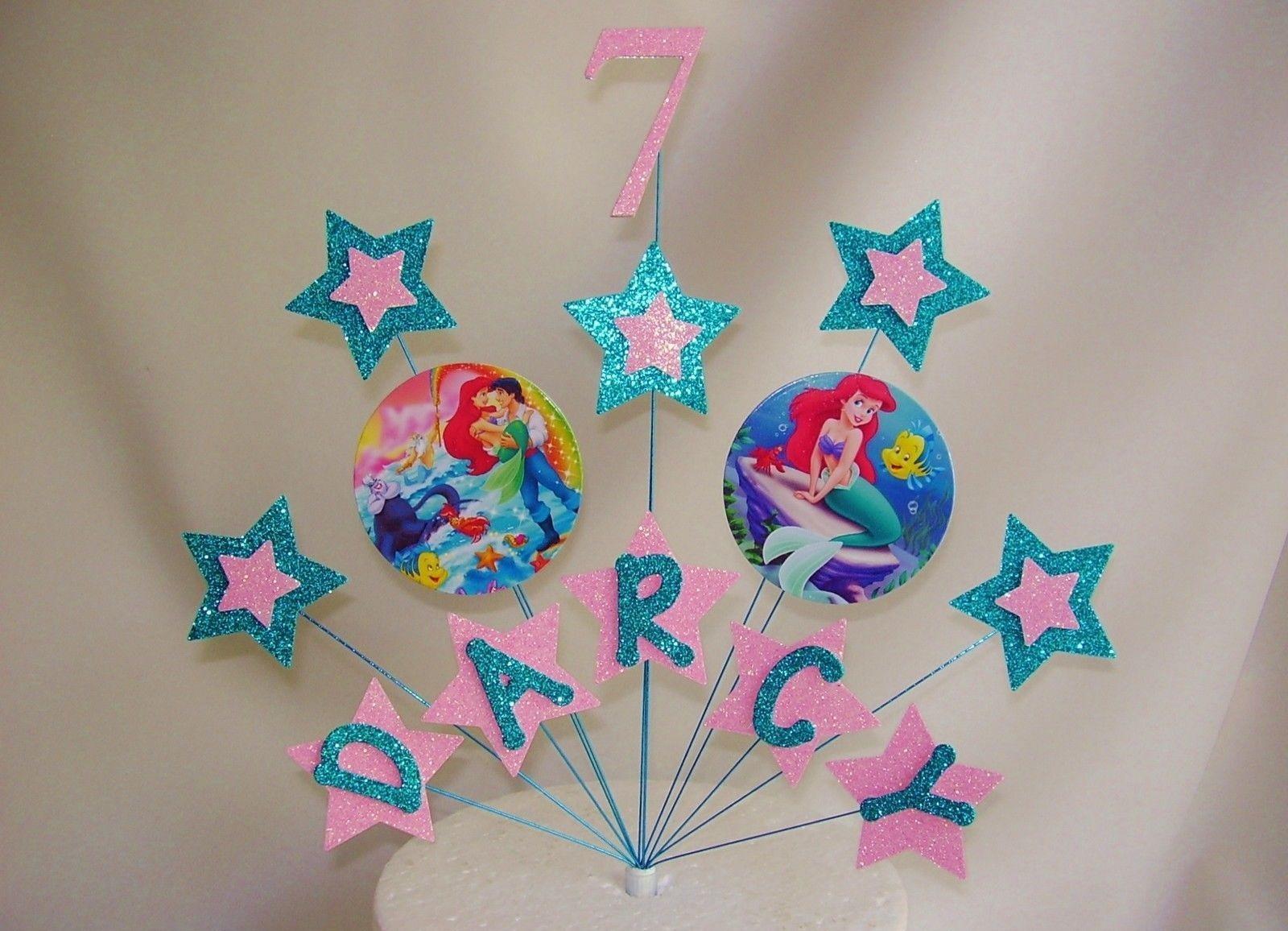 Ariel Cake Decorations Little Mermaid Ariel Cake Decoration Topper For 10 Listingdock