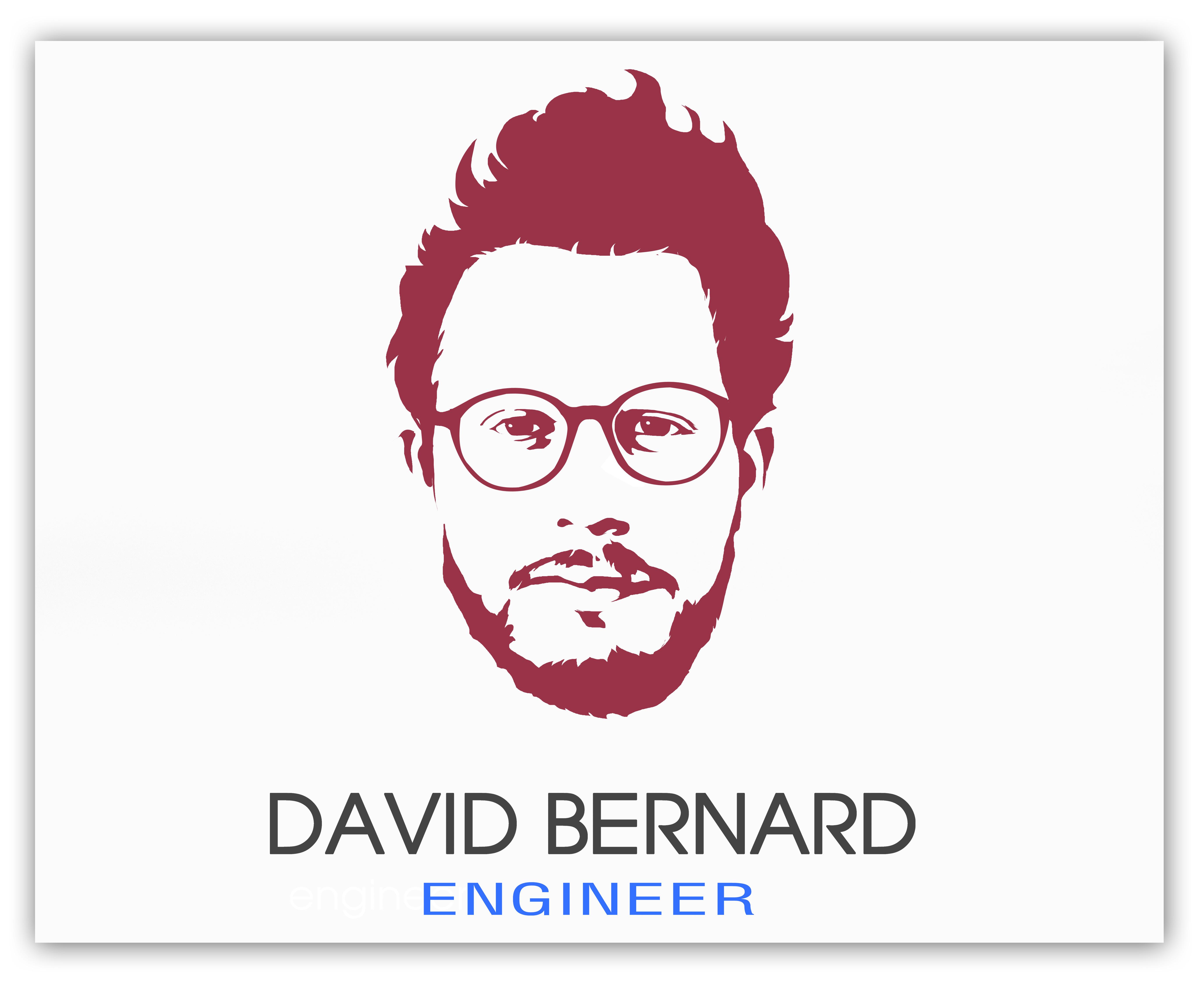 DESIGN for you a portrait logo
