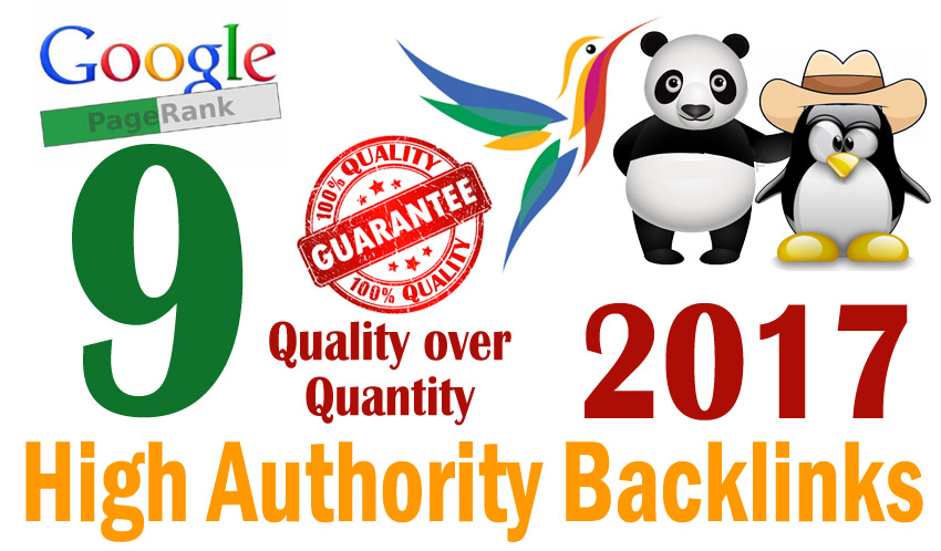 Create manually powerful high quality Backlinks with PageRank 9 and login information
