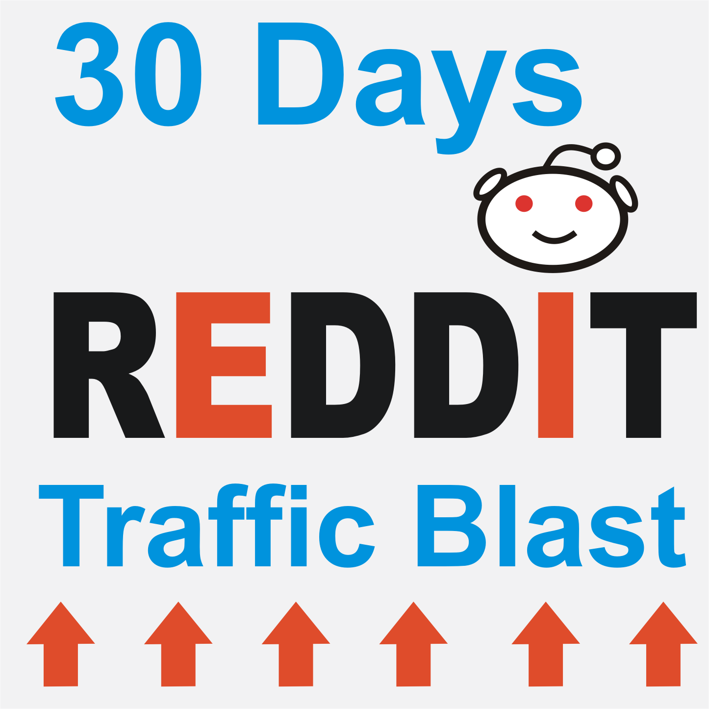 30 days Reddit traffic blast for your website