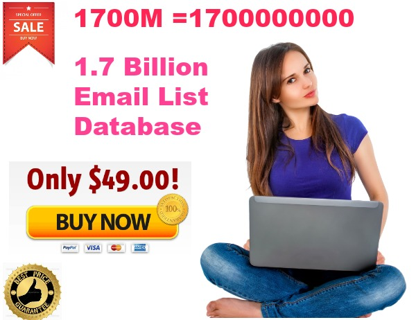 1700 Million us,uk,worldwide Active EMAIL lists for sky rocket your business