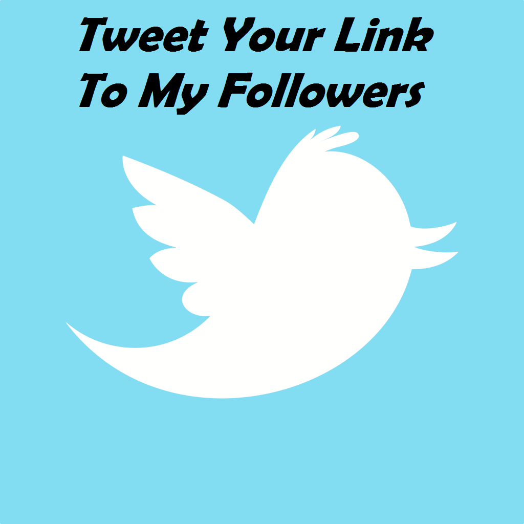 Tweet Your Link to My Followers 7 Times a Day