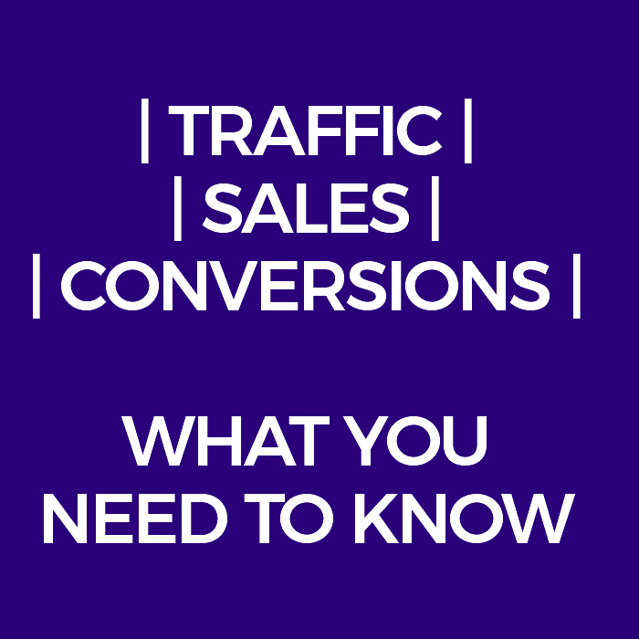 Traffic, Conversions and Profit - What You Need to Know