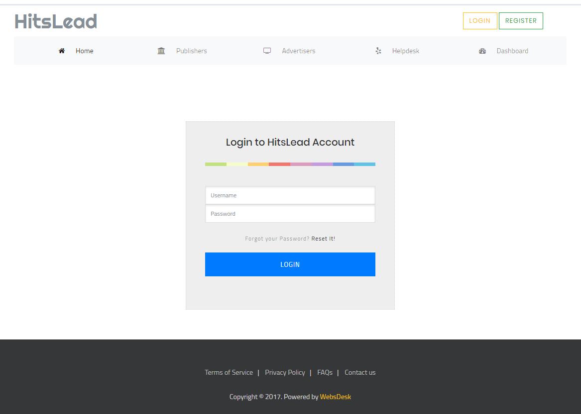 User Login/Registration based Dynamic Website with Free Hosting