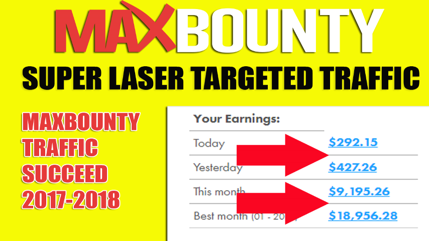How To Make 1000$ Daily With Cpa Step-By-Step Video MAXBOUNTY