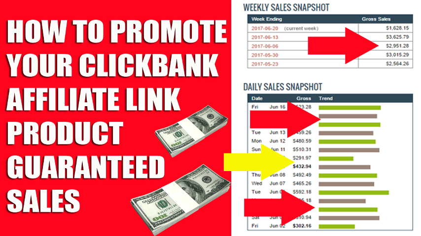 Give Top Traffic Source list To Promote Click Bank Product Guaranteed Sales
