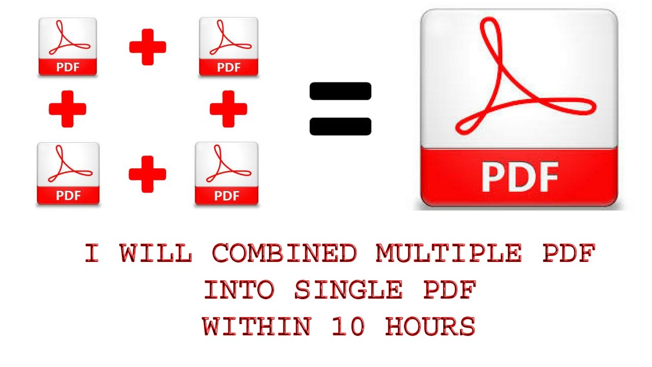 Do 1 Hour Combine Multiple Pdf To Single Pdf