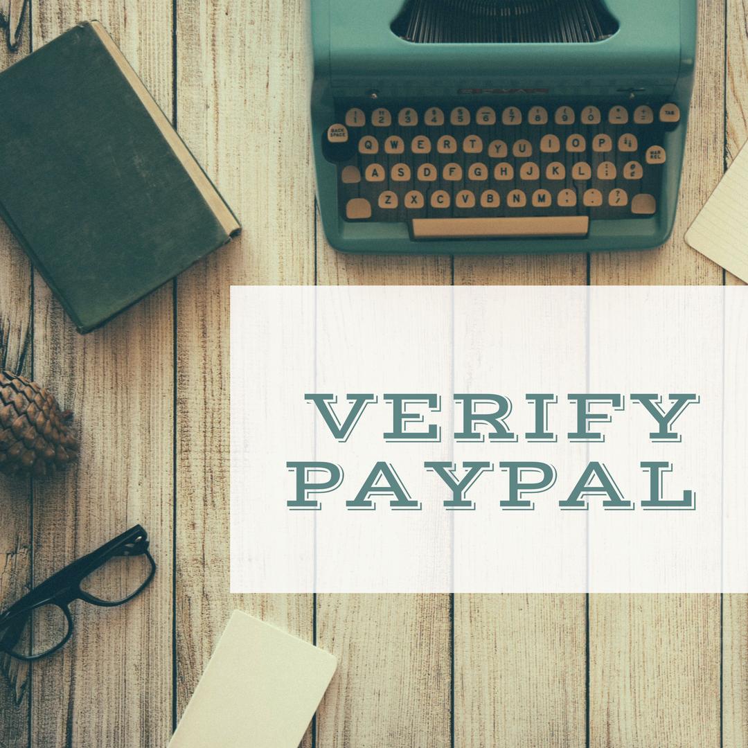 Verify PayPal - Verification service with VCC