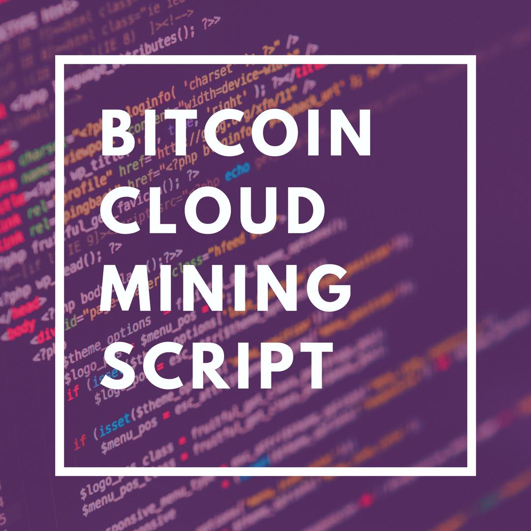 Bitcoin Cloud Mining Website Script - Litecoin Ethereum