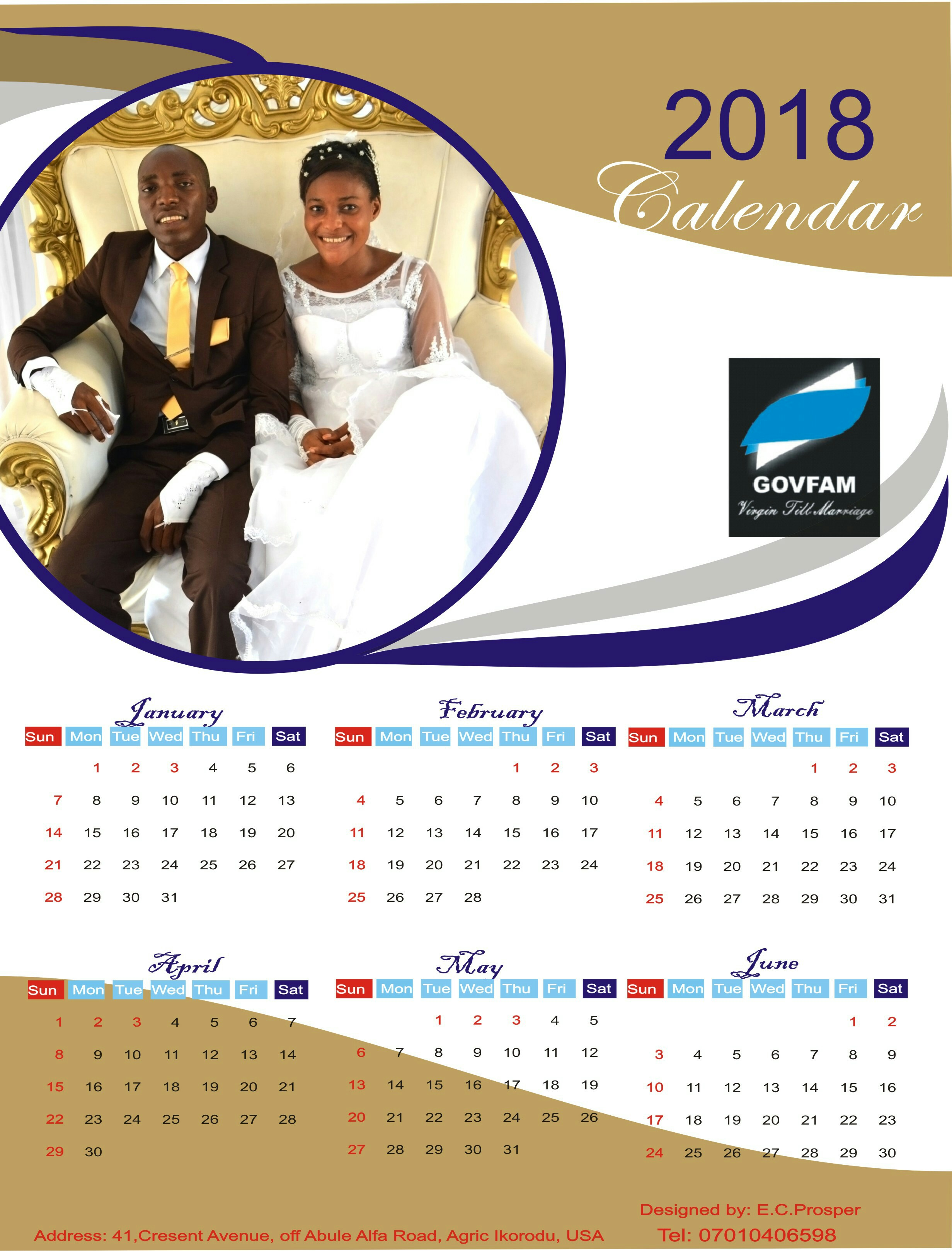Create your calender