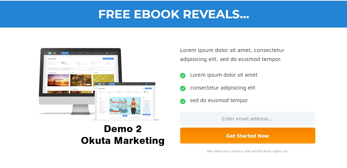Download 10 Eye-Catching HTML Lead Generation Pages