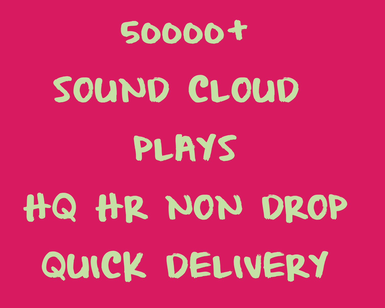 Get 50000+ HQ,HR & Non Drop sound track promotions quickly