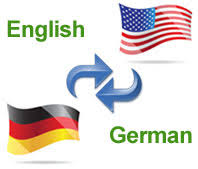 Translation English/German and German/English