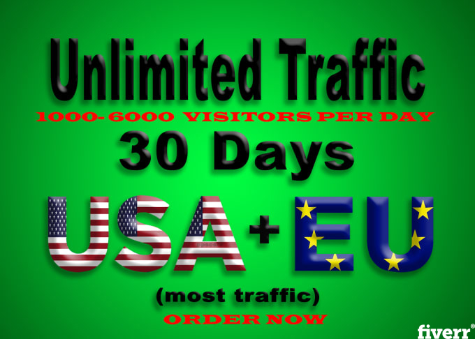 Provide 800 Social, Organic, Mobile Traffic Your Website for 30 days