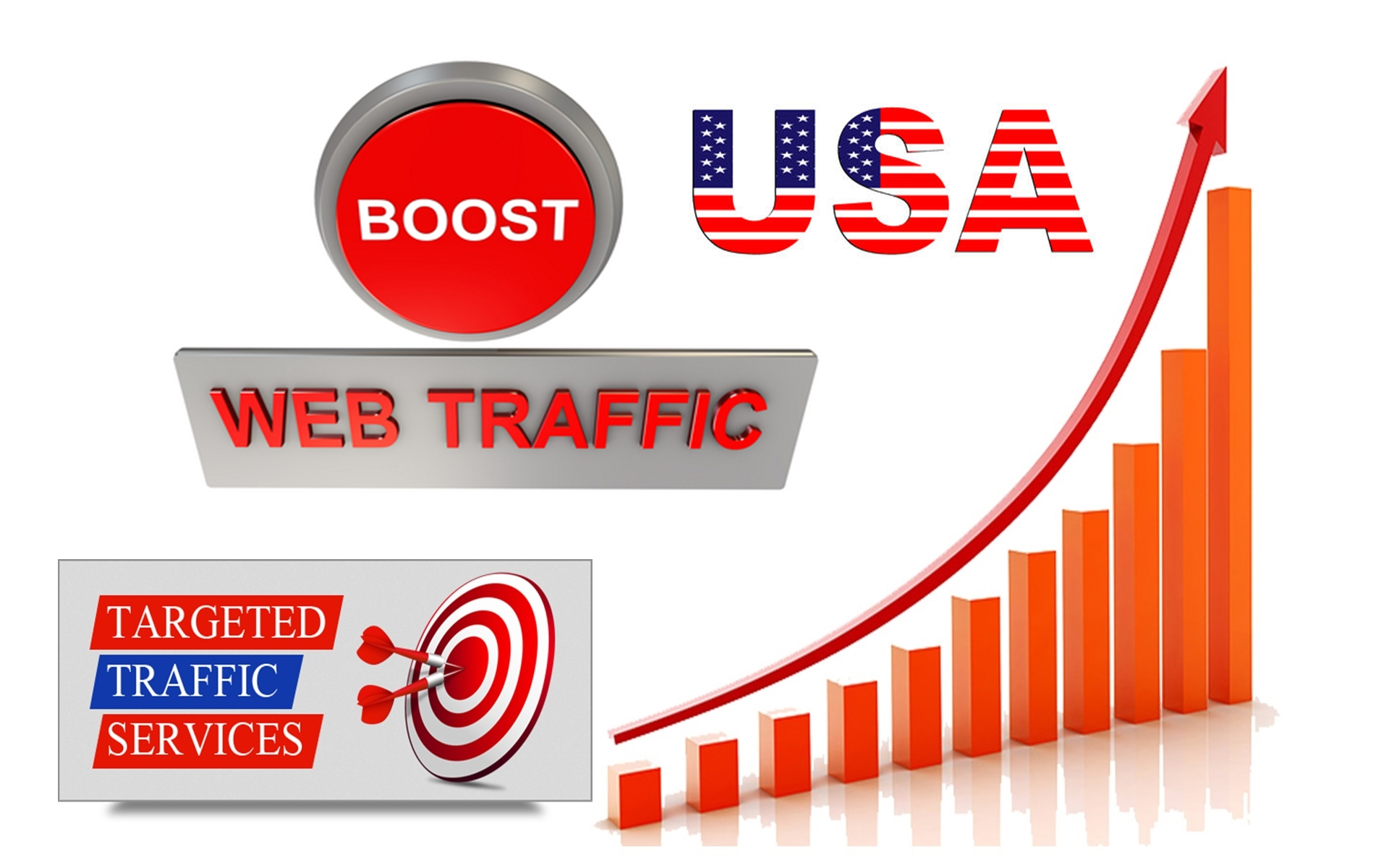 Provide 180,000 Worldwide Organic Traffic For 30 Days