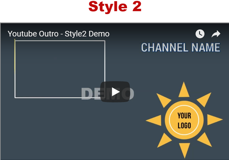 25 YouTube Video Outro Clips w/PLR License