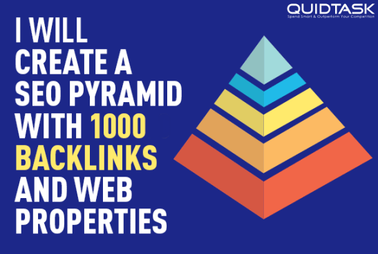 SEO Pyramid  1000 PBN Backlinks and Social Signals from PR9 Networks with Link Juice