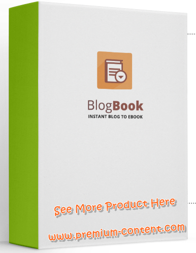 WP BlogBook - Create Book For Your Blog