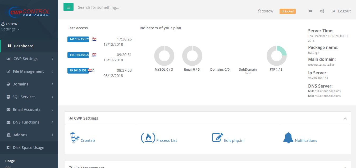 1 year 3 subdomains web hosting - no domain needed - ...