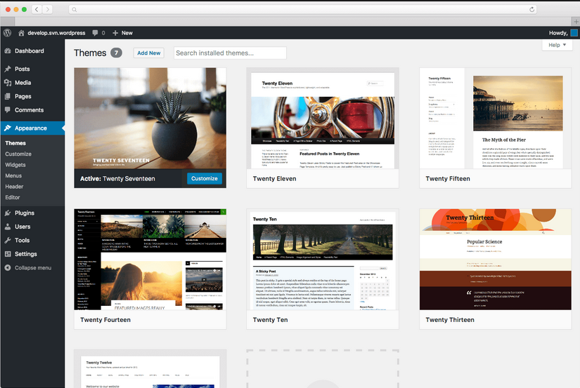 do Install wordpress, themes, plugins on your sites