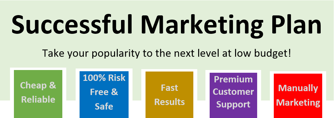 Successful Marketing Plan - Pack 1000