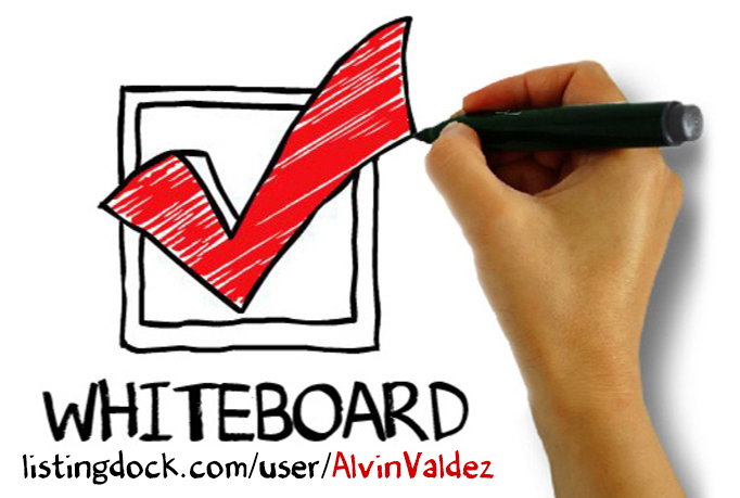 I will create a Whiteboard Video using this TEMPLATE