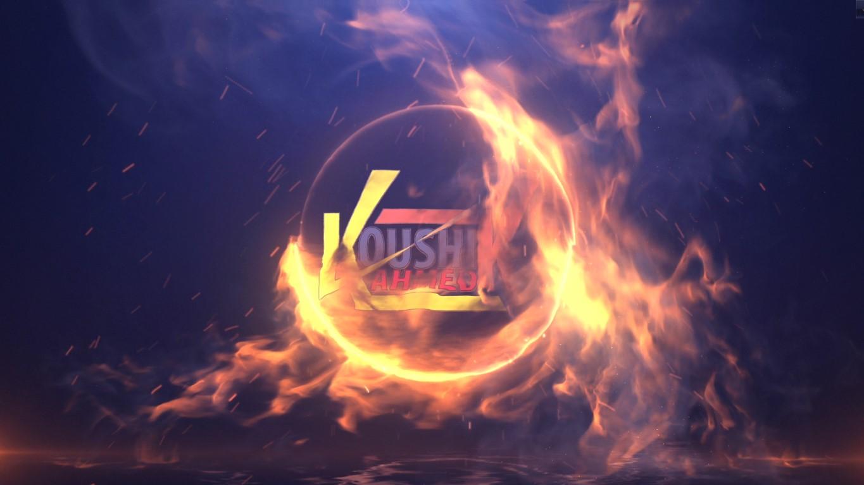 Create 2 Amazing Fire Video Intro Animation