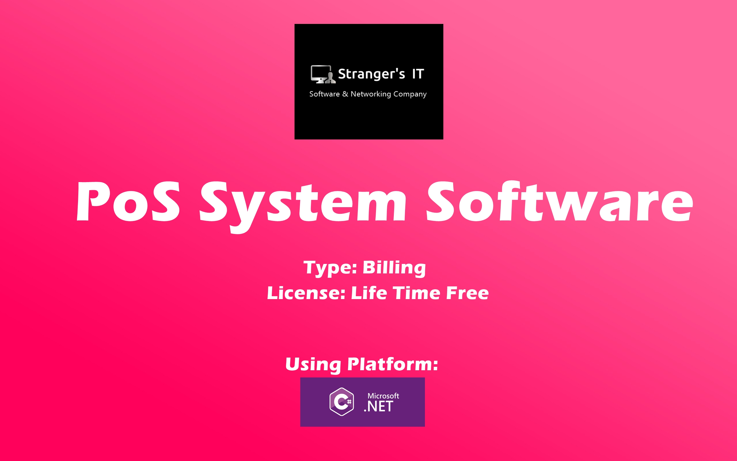 Create PoS System Software