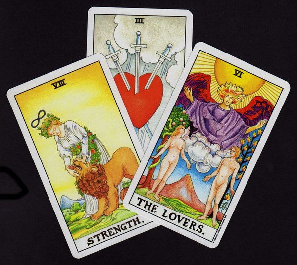 One Question Past, Present and Future Tarot Reading