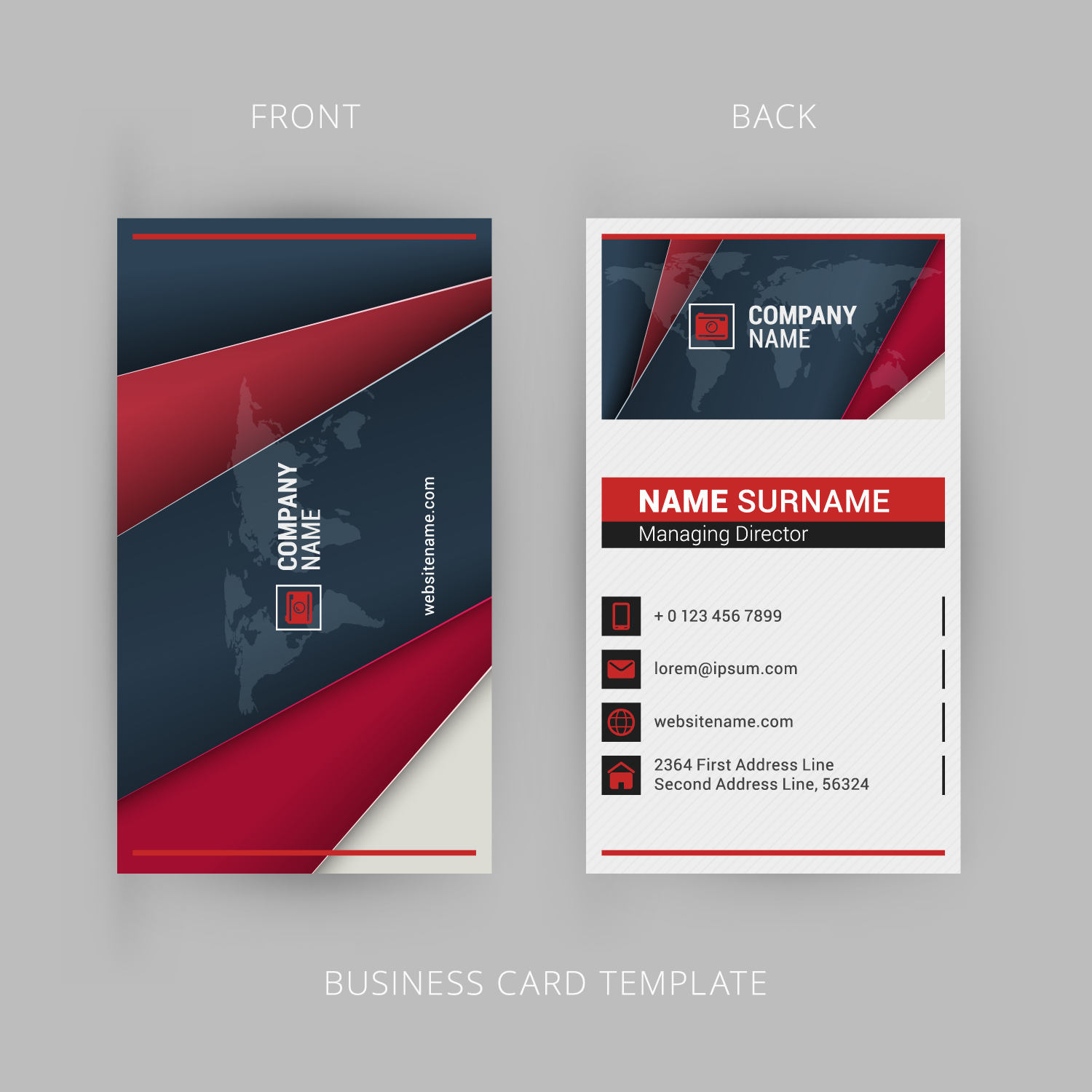 Design three different types of business cards in one deal for $5 ...