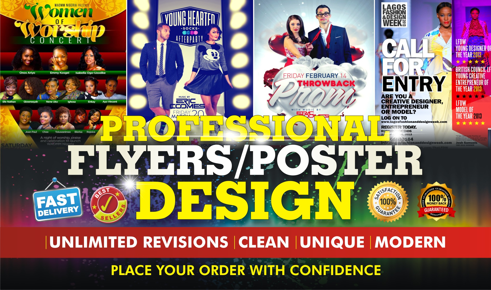 Awesome FlyerPoster Design for your Business