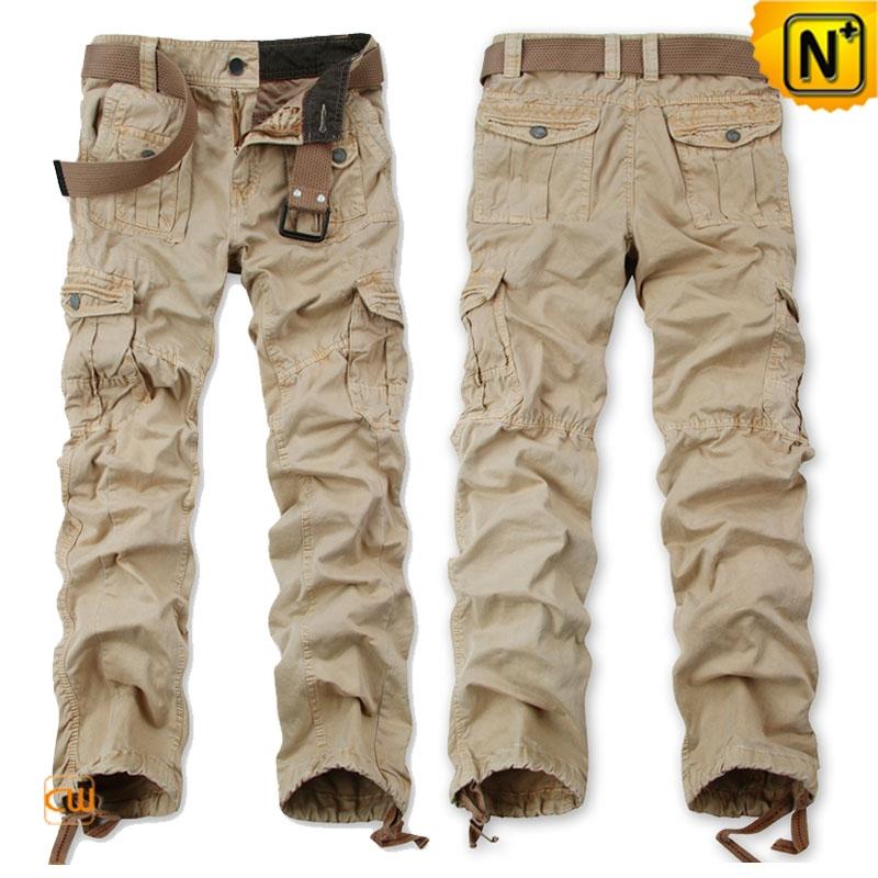 Mens Loose Cargo Workout Pants CW140480