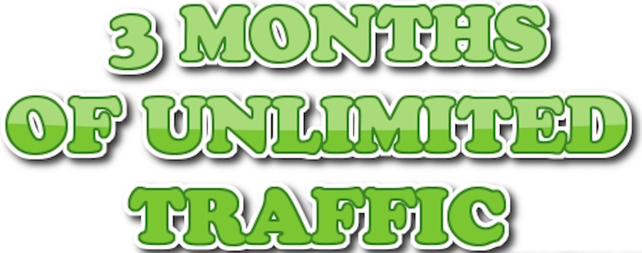 UNLIMITED genuine real traffic for 6 months